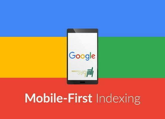الگوریتم گوگل موبایل  mobile first index