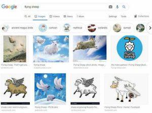 ظاهر جدید جستجوی عکس گوگل